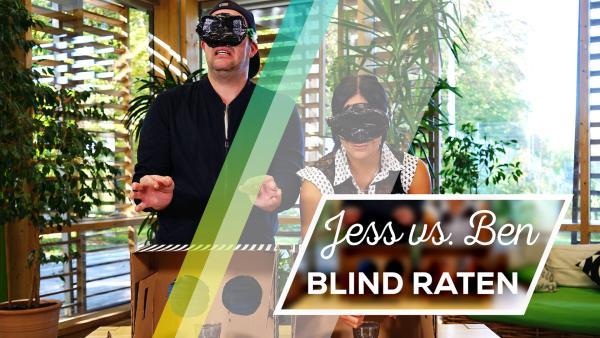Jess vs. Ben: Blind raten | Rechte: KiKA