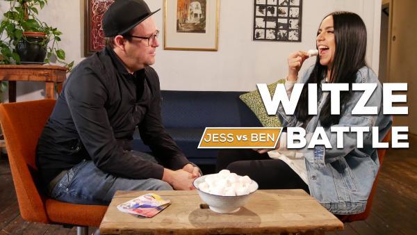 Jess vs. Ben - Witze-Battle | Rechte: KiKA / Jackie Kupey