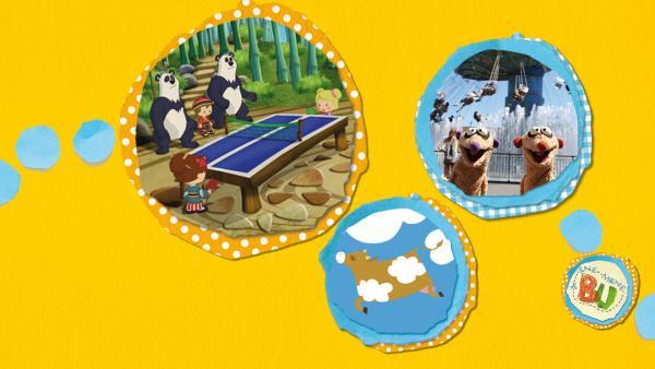 Kikaninchen und Freunde: Von Kühen und Ballondieben | Rechte: KiKA