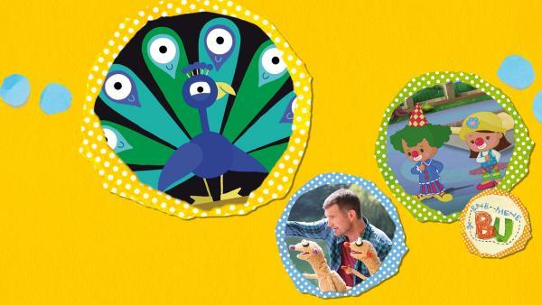 Kikaninchen und Freunde: Von Clowns und Pfauen | Rechte: KiKA