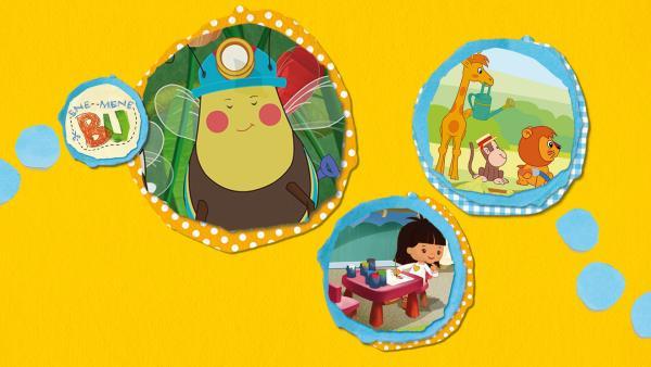 Kikaninchen und Freunde: Von Bienen und Pizza | Rechte: KiKA