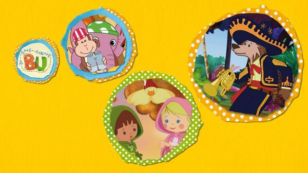 Kikaninchen und Freunde: Von einer Party und jeder Menge Pudding | Rechte: KiKA