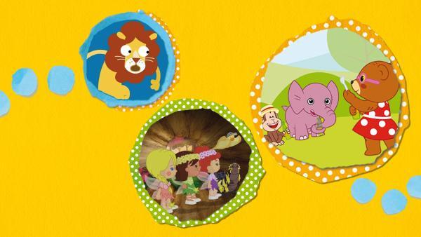 Kikaninchen und Freunde: Von Kirschkernen und Schmetterlingen | Rechte: KiKA