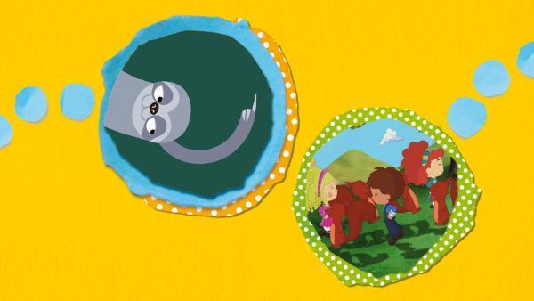 Kikaninchen und Freunde: Vom Wassermann und Prinzessinen | Rechte: KiKA