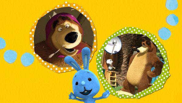 Kikaninchen und Freunde: Von Rennwagen und Fernsehern | Rechte: KiKA