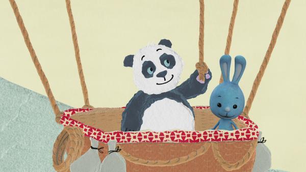 Ballonfahrt über China | Rechte: KiKA