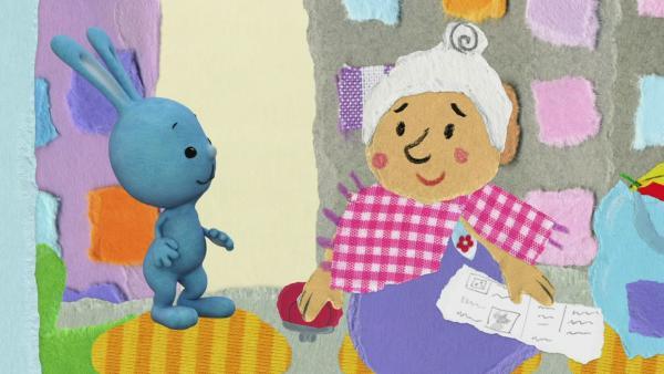 Hilfe für Oma Inge | Rechte: KiKA