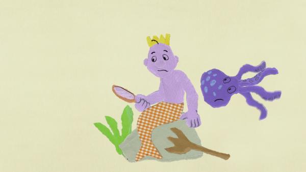 Tintenfisch Toni hilft dem Wassermann | Rechte: KiKA