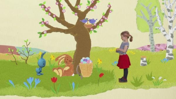 Kikaninchen trifft den Osterhasen | Rechte: KIKA