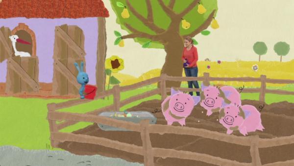 Chaos auf dem Bauernhof | Rechte: KIKA
