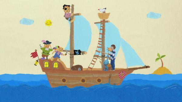 Das Piratenschiff | Rechte: KIKA
