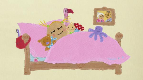Philippa schläft in Mamas Zimmer | Rechte: KIKA