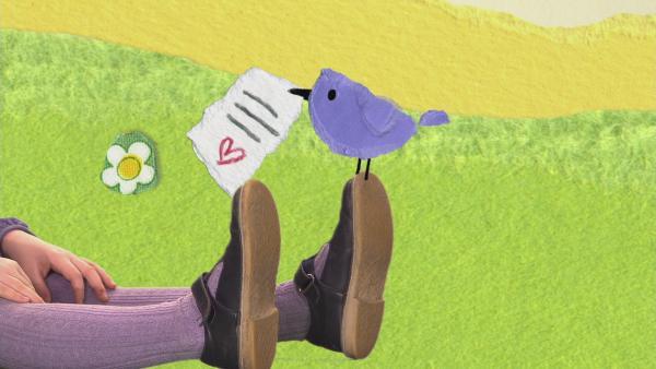 Ein Lied für den Vogelpostboten | Rechte: KiKA