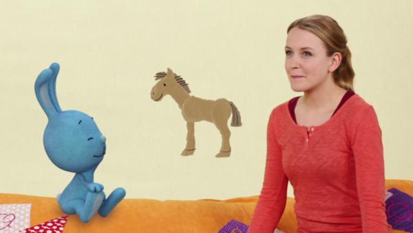 Das Pferd hat Geburtstag | Rechte: KiKA