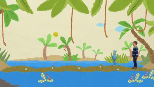 Krokodilbrücke | Rechte: KiKA