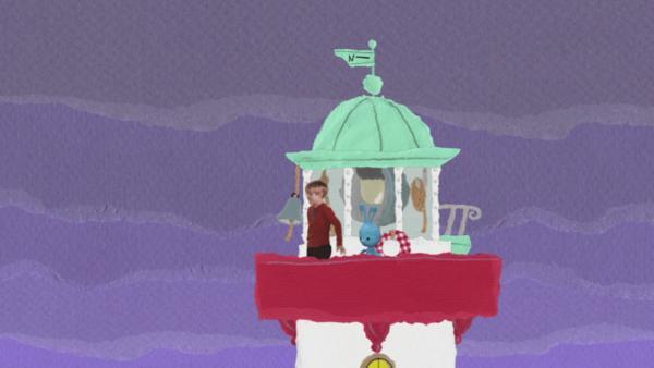 Ein kaputter Leuchtturm | Rechte: KiKA