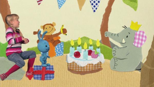Eine schöne Geburtstagstorte | Rechte: KiKA