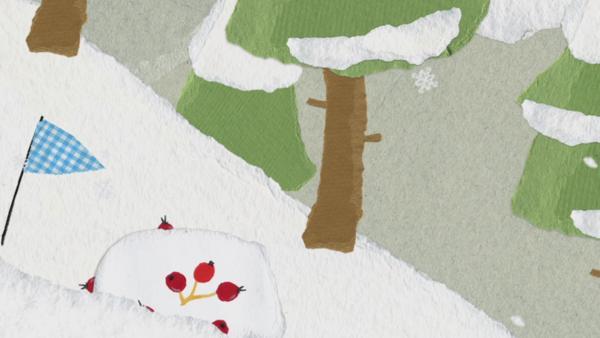 Schneeabenteuer mit dem Snowboard | Rechte: KiKA