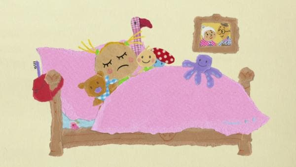 Philippa kann nicht schlafen | Rechte: KiKA