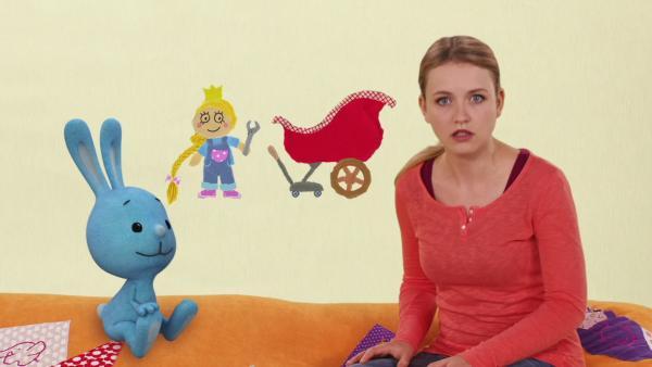 Rapunzel und die Kutsche | Rechte: KiKA