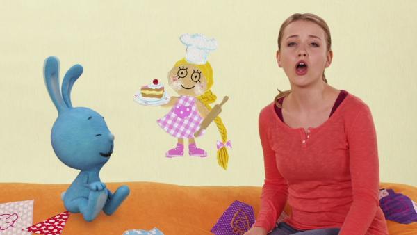 Rapunzel und der Kuchen | Rechte: KiKA