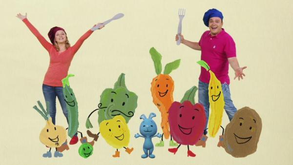 Freches Gemüse | Rechte: KiKA