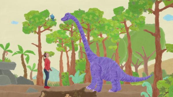 Dinorutsche | Rechte: KiKA