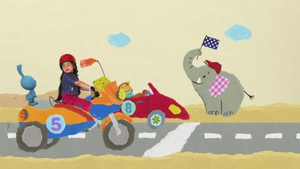 Motorradrennen | Rechte: KiKA