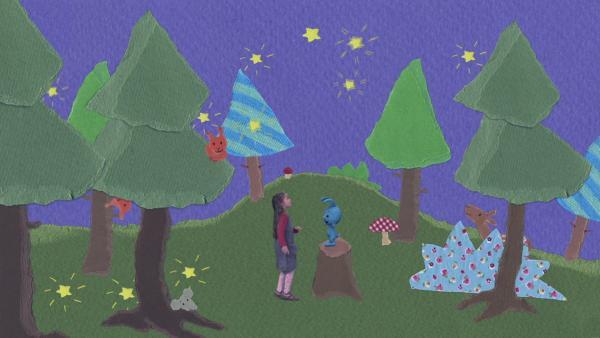 Ein märchenhafter Sternenregen | Rechte: KiKA
