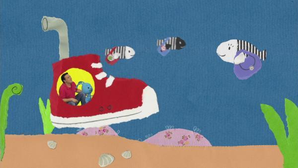 U-Boot Zebrafische | Rechte: KiKA
