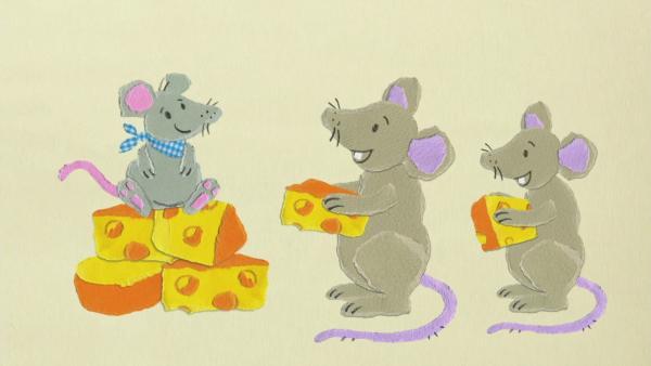 Die kleine Maus und der Löwe feiern Geburtstag | Rechte: KiKA