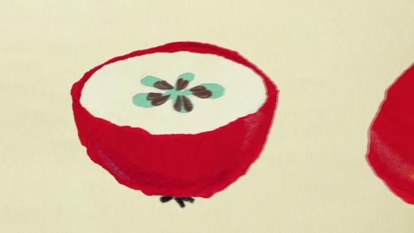 Kleiner Apfel | Rechte: KiKA