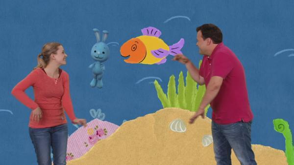 Der glückliche Chri-An-Ki-Fisch | Rechte: KiKA