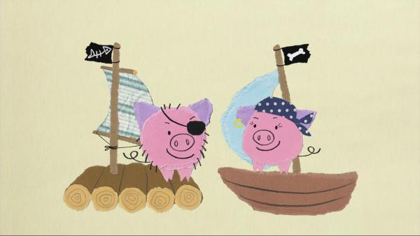 Das Piratenschwein Fred | Rechte: KiKA