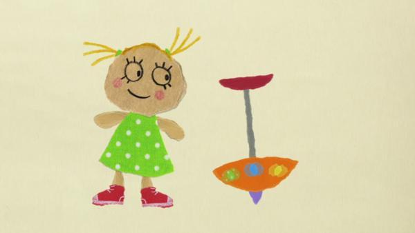 Philippa und der Kreisel | Rechte: KiKA