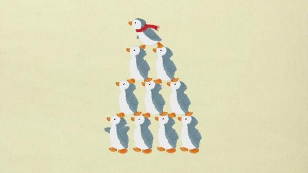 Die Pinguin-Pyramide | Rechte: KiKA
