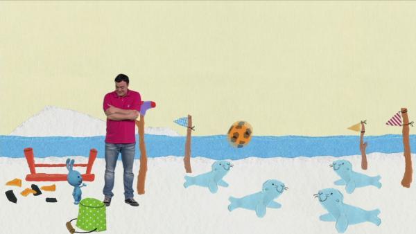 Eine Schlittenfahrt zu den Robben | Rechte: KiKA