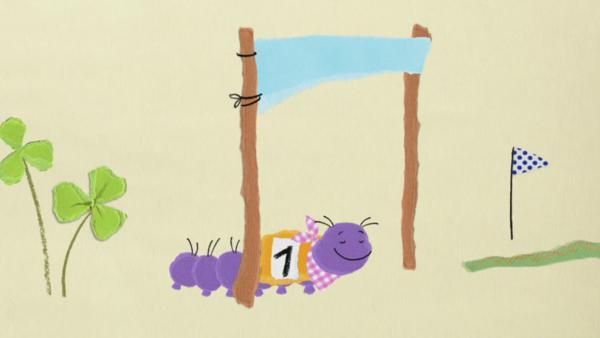 Ein Wettrennen mit der Raupe | Rechte: KiKA