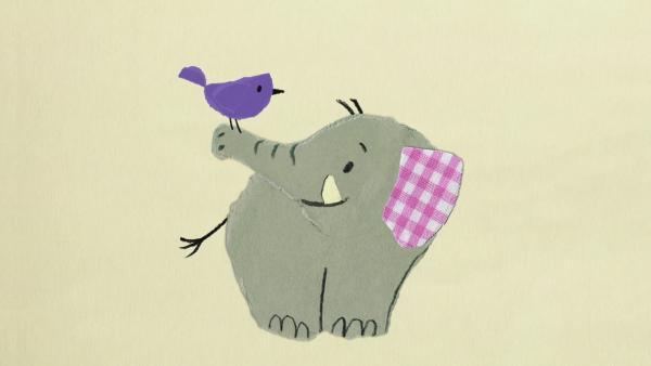 Der Vogel und der Elefant | Rechte: KiKA