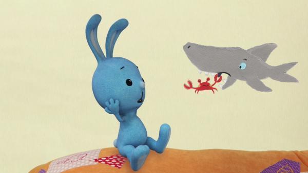Die Krabbe als Zahnarzt | Rechte: KiKA