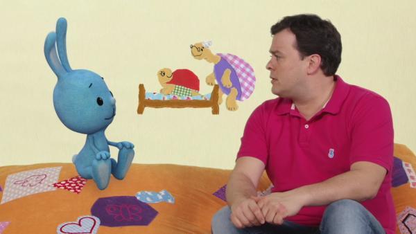"Der ""Super-Schildkröten-Schlummertrick"" | Rechte: KiKA"