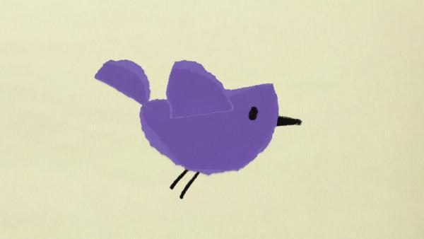 Ein Vogel fliegt hoch hinaus | Rechte: KiKA