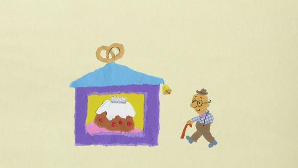 Opa Otto und der Krümeltrick | Rechte: KiKA