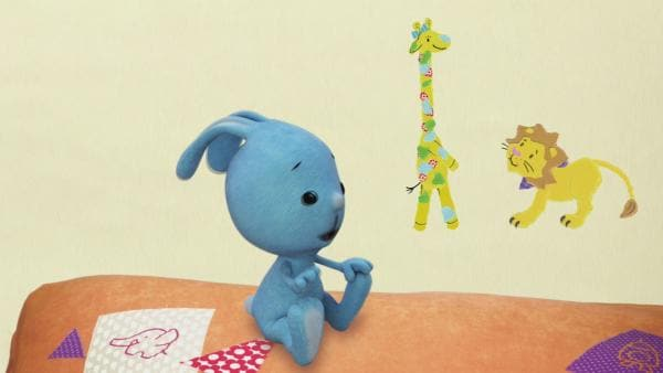 Giraffe Gerda und der Löwe | Rechte: KiKA