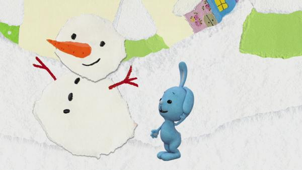 Spuren im Schnee | Rechte: KiKA