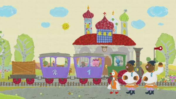 Der Schulbus hat eine Panne | Rechte: KiKA