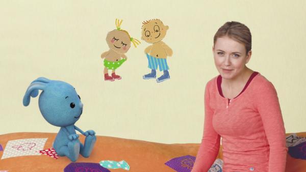 Philippa und Anton finden Unterschiede | Rechte: KiKA
