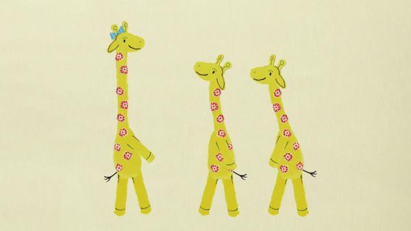 Giraffe Gerda und die G-Wörter | Rechte: KiKA