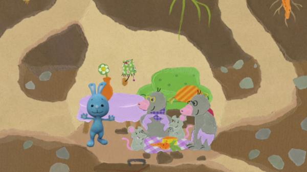 Besuch in der Maulwurfshöhle | Rechte: KiKA