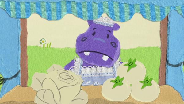Gemüsefärben im Farblosland | Rechte: KiKA